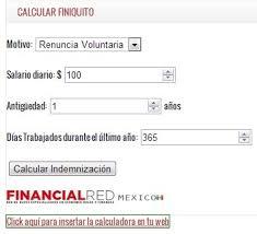 calculadora de finiquito en chile calculadora de finiquito méxico economía y negocios taringa