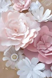 Flowers For Weddings Paper Flowers For Weddings How To Make Handmade Paper Flowers