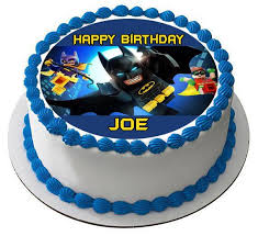 batman cake ideas the lego batman 2 edible cake topper cupcake toppers