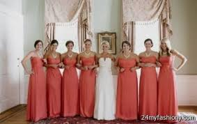 coral and gold bridesmaid dresses coral and gold bridesmaid dresses 2016 2017 b2b fashion