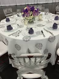 napkin rentals gray medallion embroidered linen overlay wisteria lamour napkins