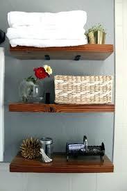 Images Of Bathroom Shelves Wood Bathroom Shelf Northlight Co