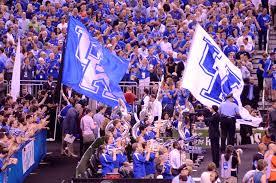 Cheerleader Flags Kentucky Vs Louisville Gameday Photostory Final Four Focus