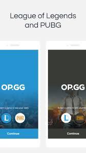 pubg op gg op gg on the app store
