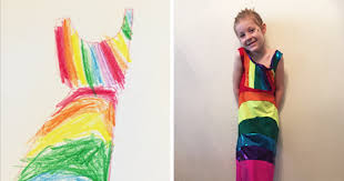 design dresses this company lets kids design their own clothes bored panda
