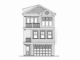 3 story home plans 3 bedroom house plans narrow lot fresh narrow home plans with