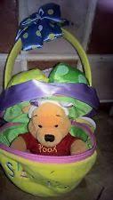 winnie the pooh easter basket easter winnie the pooh teddy bears ebay
