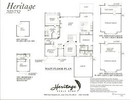 arts and crafts floor plans heritage floor plan 702 at heritage eagle bend golf club