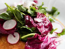 5 minute radicchio and watercress salad recipe serious eats