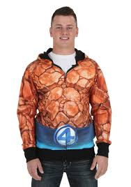 Fantastic Halloween Costumes Fantastic Sublimated Costume Hoodie