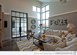 pinterest home design lover 15 living rooms with pretty print themes home design lover