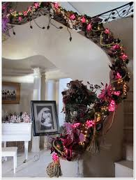 Banister Decor Delightful Order Staircase Christmas Decorating This Is My