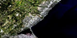 Satellite View Map Hamilton Burlington On Free Satellite Image Map 030m05 At 1 50 000