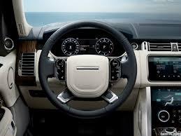 land rover range rover interior 2018 range rover interior steering wheel hd wallpaper 29