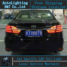 2015 toyota camry tail light car styling for toyota camry taillight aassembly 14 15 camry led