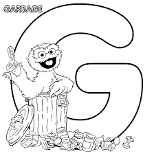 free oscar grouch coloring pages coloring pages kids