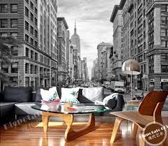 aliexpress com buy modern black and white building wallpaper