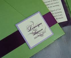Wedding Invitation Diy Diy Pocket Fold Wedding Invitation New York City