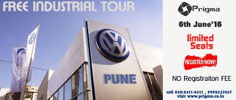 volkswagen pune book free industrial visit to volkswagen plant pune tickets pune