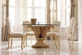 elegant and beautiful round glass dining table eva furniture