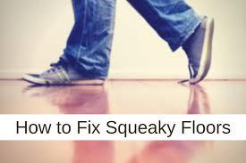 Squeaky Floor Repair How To Fix A Squeaky Floor