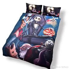 Nightmare Before Christmas Bedroom Set by Amazing Nightmare Before Christmas Reactive Printing Bedding Set