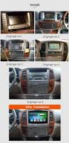 10 1 inch 2000 2008 toyota land cruiser 100 lc100 android 6 0
