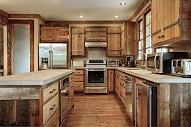 Kitchen  Classic Cabin Custom Cabinets Houston  Cabinet Masters - Cabin kitchen cabinets