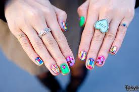 cute japanese nail art tokyo fashion news dope nail art by