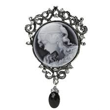 cameo necklace pendant images Elegant women lady jewelry antique vintage victorian cameo brooch jpg