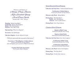lds baptism invitation announcement by lds baptisms programs
