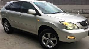 lexus rx300 towing 2004 toyota harrier 3 0l tow bar youtube