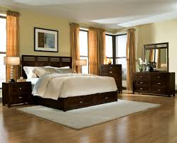 bedroom color schemes with dark furniture endearing beige paint