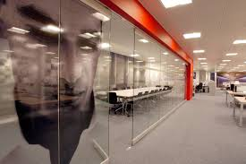 beautiful glass office walls and doors frameless glass partition
