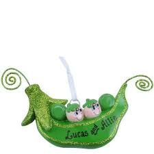two peas in a pod christmas ornament sweet peas in a pod ornament