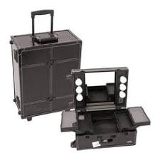 portable light for makeup artist professional pink trolley portable cosmetic makeup artist table