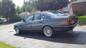 1988 bmw 7 series bmw 7 series sedan 1988 blue for sale wbagb3306j1630653 1988 bmw