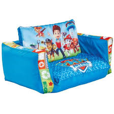 canape lit enfant canapé lit gonflable enfant pat patrouille en polytser coloris