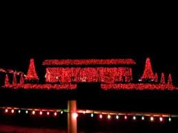 yukon ok christmas lights christmas lights in chisholm trail park yukon oklahoma youtube