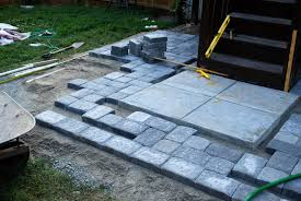 Install Patio Pavers by Charming Making A Patio With Pavers Design U2013 Cheap Patio Ideas For