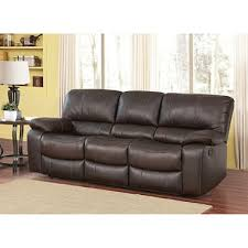 riley top grain leather reclining sofa sam u0027s club