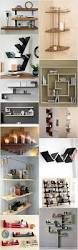 functional and stylish wall shelf ideas recycled things