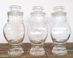 antique kitchen canisters antique jar etsy