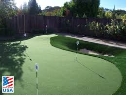Putting Green In Backyard by Artificial Putting Greens Field Of Green Grass Made Perfect