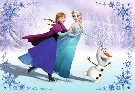 frozen wallpaper elsa and anna sisters forever image anna elsa and olaf ice skating wallpaper jpg disney wiki