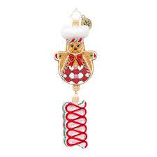 christopher radko ornaments candy swirl chef candy u0026 sweets