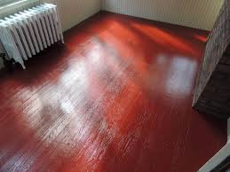 Red Floor Paint Sun Porch Floor Painted Tile Red Color With Insl X Tough Shield