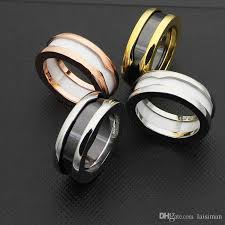 ceramic rings white images High quality arc narrow ceramic ring black white ceramic titanium jpg