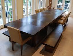dining table in wenge u0026 walnut makers u0027 eye
