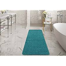 Bathroom Runner Rug Berrnour Home Soft Tufted Cotton Runner